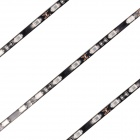 27W 2160lm 480nm 90-SMD 5630 LED Blue Light Car Decoration Strip Lamp - Black (90cm / 2 PCS / 12V)