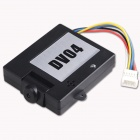 Walkera DV04 5.8G FPV HD Video Camera for DEVOF7/F4 Transmitter - Black