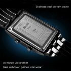 SKMEI 0926 LED 30 Meter Waterproof Digital LED Watches for Men - Black