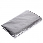 LONGCANG Advanced Reflective Anti Theft Half Car Cover w/ Thicken Material - Silver