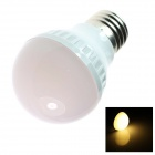 TZY Q22 E27 3W 250lm 3500K 21-SMD 5050 LED Warm White Light Lamp Bulb - White (AC 220~240V)
