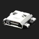 Replacement Micro USB Socket Connector Module for Samsung i9200 P5200 - Silver