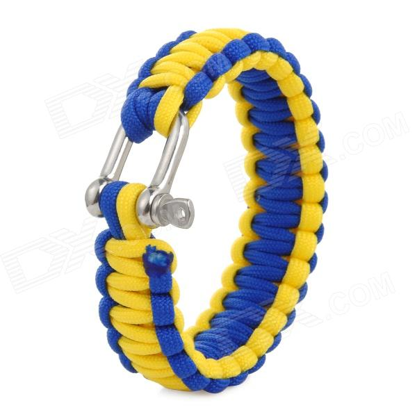 Emergency Escape Quick-Release Hand Rope - Yellow + Blue автомобильный усилитель acv lx 4 80