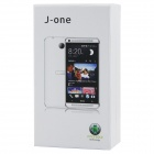 "J-one Android 2.3.5 GSM Bar Phone w/ 4.7"" Capacitive Screen, Quad-Band, Wi-Fi and FM - Silver"