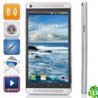 J-one Android 2.3.5 GSM Bar Phone w/ 4.7' Capacitive Screen, Quad-Band, Wi-Fi and FM - Silver