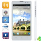 "Q9000 (Q5) MTK6589 Quad-Core Android 4.2.1 WCDMA Bar Phone w / 5,0 ""HD, FM, Wi-Fi und GPS - Weiß"