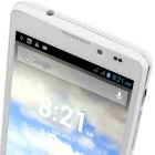 "Q9000(Q5) MTK6589 Quad-Core Android 4.2.1 WCDMA Bar Phone w/ 5.0"" HD, FM, Wi-Fi and GPS - White"