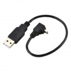 CMI U2-205 USB 2.0 Male to 90' Micro USB Male Data Sync / Charging Cable for Cellphone / Tablet