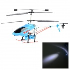 CX-MODELL CX027 3.5CH R / C Helicopter Blowing Bubbles - Schwarz + Blau
