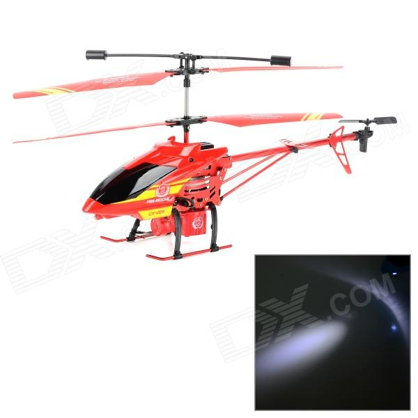 CX-MODEL CX026 3.5CH R/C Water Spray Helicopter w/ Gryo + LED - Black + Red