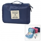 WINNER A122 Outdoor Travel Wash Nylon Bag - Dark Blue