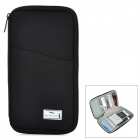 Wellhouse WH00335 Portable Zipper License Storage Bag - Black
