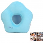 Uhealer L048-LD Memory Foam Neck Cushion Pilliow - Blue