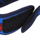 QINGLONGLIN Outdoor Sports Fleece Face Protection Mouth Mask - Blue + Black