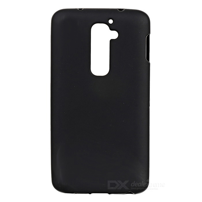 Protective Plastic Back Case for LG Optimus G2 / D801 / F320 / LS980 - Black for lg optimus g e977 f180k f180s f180l