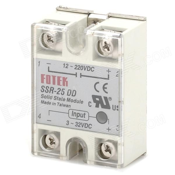 SSR-25DD Solid-state Relay solid state relay ssr 120da clear cover for temperature contoller