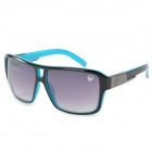 OREKA 2083 Big Frame UV400 Protection Sunglasses - Blue + Black