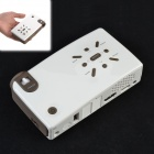 MOV MOV198L Lcos LED Handheld Mini Projector / Projector for Iphone / Samsung Smart Phones - White