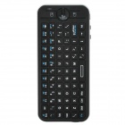 iPazzport KP-810-16A USB Powered 2.4GHz Wireless 82-Key Keyboard - Black