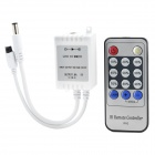 Infrared Remote Control w/ LED Dimmer for LED Light Stripe - White