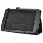 Protective PU Leather Lichee Pattern Case for Asus ME173X - Black
