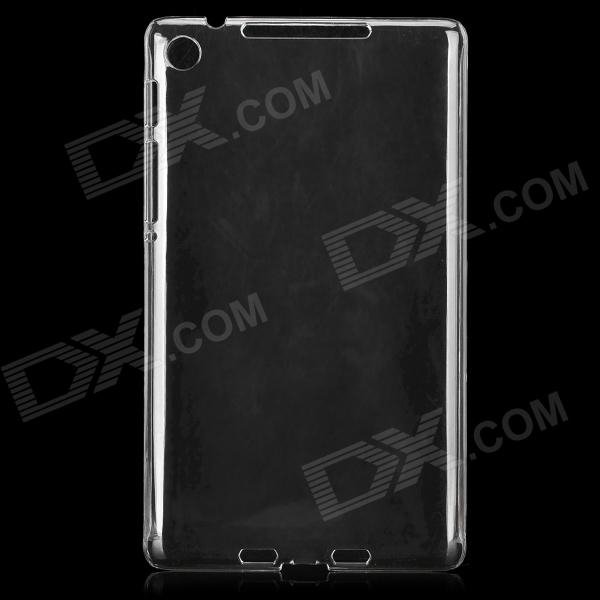 Protective Plastic Back Case for Google Nexus 7 Second Generation - Transparent
