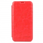 Stylish Protective PU Leather Case for Xiaomi 2A - Red