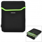 "Kingsons KS6191W  Universal Neoprene Sleeve Bag for 9.7"" Laptops - Green + Black"