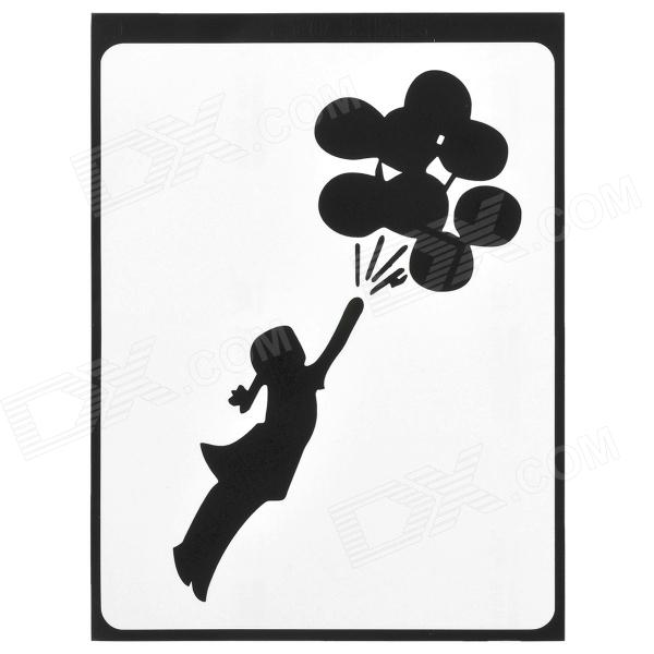 PAG Girl & Balloon Style Decoration Sticker for Macbook 11