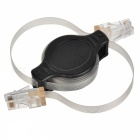 Retractable RJ45 CAT 5 Ethernet Network Cable (1.2-Meter)