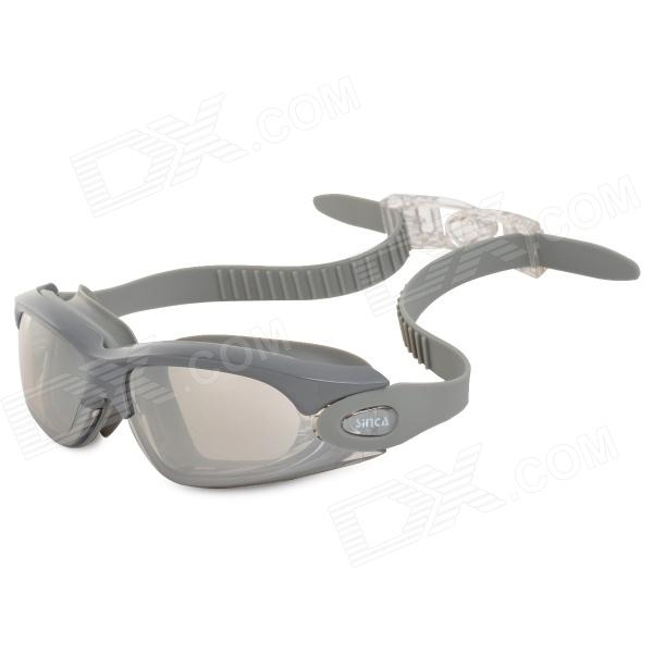 Sinca S928M Anti-Fog Electroplating Swimming Goggles - Grey