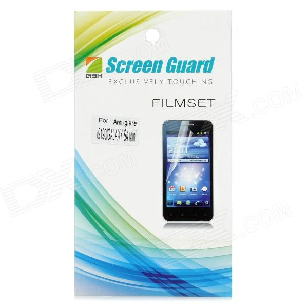 Protective Matte Frosted Screen Protector Film Guard for Samsung Galaxy S4 Mini i9190 - Transparent