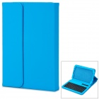 Caso USB Wireless Bluetooth V3.0 59-Key Keyboard w / Protective PU + ABS para Samsung N5100 - azul
