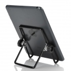 "Portable Folding Aluminum Alloy Holder Stand for 7"" Samsung Galaxy Tab P1000 - Black + Silver"