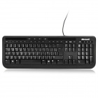 Microsoft USB Wired Keyboard w/ Multimedia Keys - Black (French)