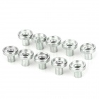 10040017 Zinc Plated Iron Column Nuts + NdFeB Magnets for LED Display - Silver (10PCS / Each)
