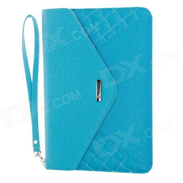 Genuine G-COVER Hand Bag for Ipad MINI / Samsung Galaxy Tab P3100 7 Table PC - Blue g cover pu leather hand bag for ipad 2 3 4 samsung galaxy tab p5100 10 table pc blue