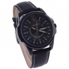 ORKINA W003 Fashionable Simple Calendar Men's Analog Quartz Wrist Watch - Black (1 x LR626)