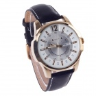 ORKINA W003 Fashionable Men's Simple Calendar Quartz Analog Wrist Watch - Black + Golden + White
