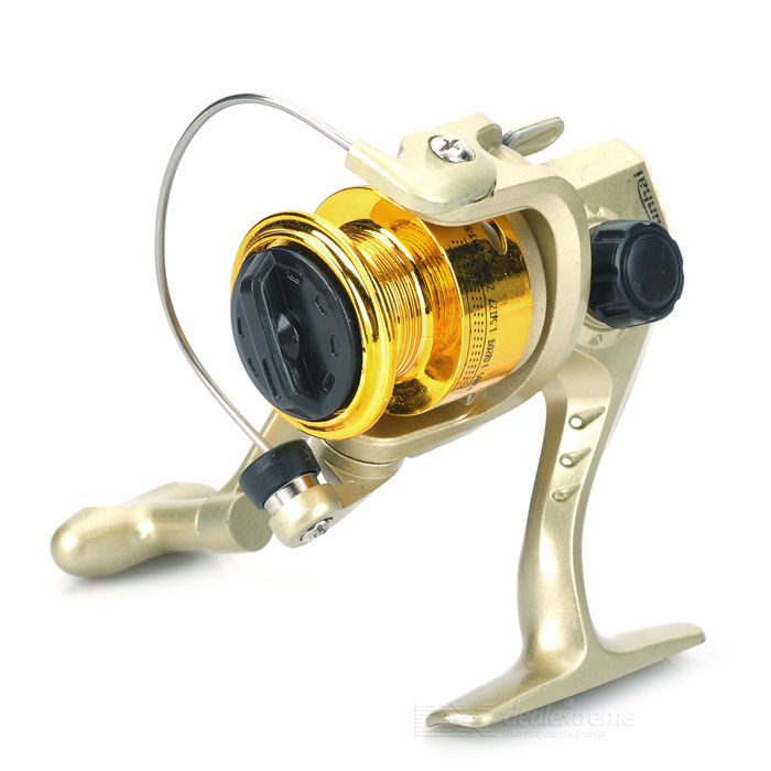 QUNHAI SG1000A Metal Wheel Head Fishing Reel - Golden all metal bait reel 8 brakes right left hand bait casting fishing reel 6 1bb 5 3 1 305g baitcasting reel high strength body