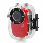 sj1000 5MP CMOS 1080P HD 140 Degree 30m Waterproof Sports Cycling Diving DVR w/ HDMI / TF - red