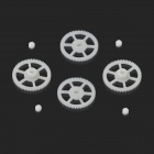 Walkera QR W100S-Z-05 Gear Set for QR W100S R/C Quadcopter - White (8 PCS)