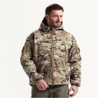 Men's Outdoor Door Sports Waterproof Windproof Polyester Spandex Jacket - Camouflage (Size XL)