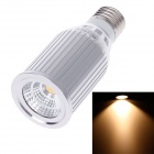 ZIYU ZY-0824-009 E27 9W 810lm 3000K COB LED Warm White Light Lamp Bulb -Silver + White (85~265V)
