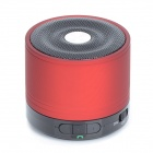SLANG M2 Bluetooth V3.0 + EDR Voice Prompt Bass Speaker for Ipad / Iphone / Samsung / HTC - Red