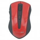 ZUNTUO ZT-301-800 HONG 2.4GHz / 1200/1600 / 2000dpi Wireless Optical Mouse - Schwarz + Rot (2 x AAA)