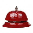Fashion Ring for Me Style Calling Bell - Red + White
