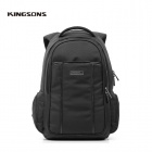 "Kingsons KS3025W 15.6"" Laptop Backpack - Black"