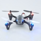 HUBSAN X4 V2 H107L Mini 2.4GHz R/C 4-CH 6-Axis 3D Quadcopter w/ LED RTF - Black