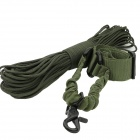 Single Rifle Sling Rope + Survival Parachute Cord - Army Green (130cm / 30m)